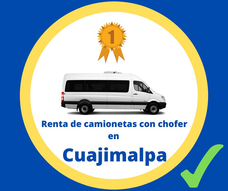 Renta de camionetas con chofer Cuajimalpa