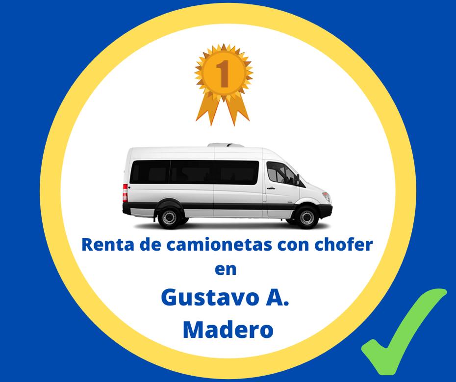 Renta de camionetas con chofer Gustavo A. Madero