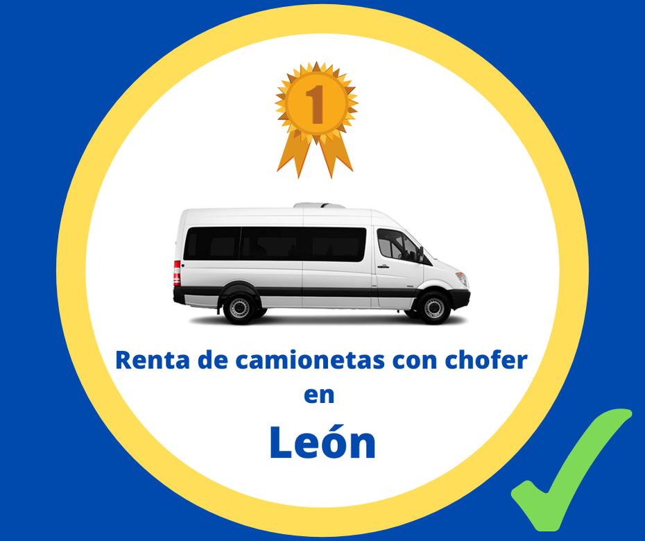 Renta de camionetas con chofer León