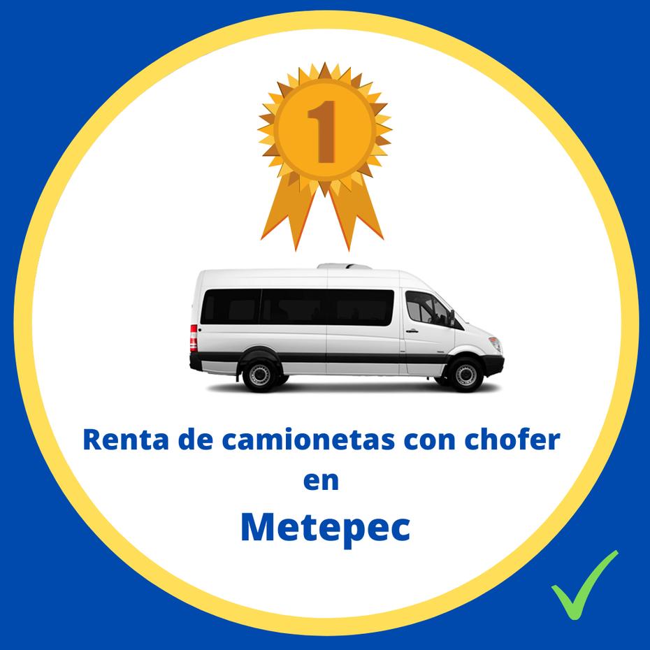 Renta de camionetas con chofer Metepec