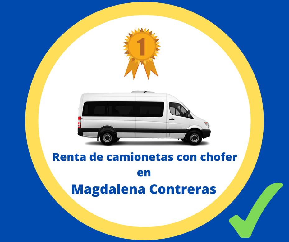 Renta de camionetas con chofer Magdalena Contreras