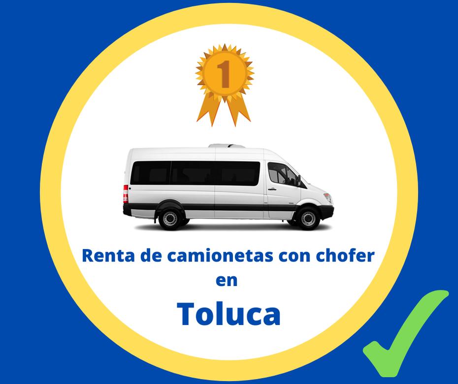 Renta de camionetas con chofer Toluca