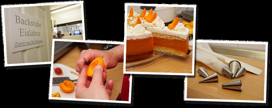 Selbst gebackener Kuchen - eis-cafe-Helene Korswandt