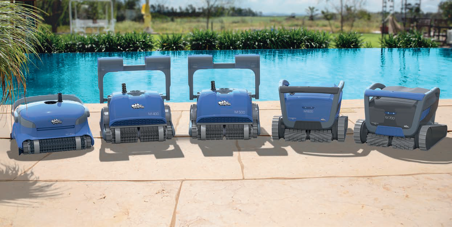 Robot pulitori per piscine Dolphin