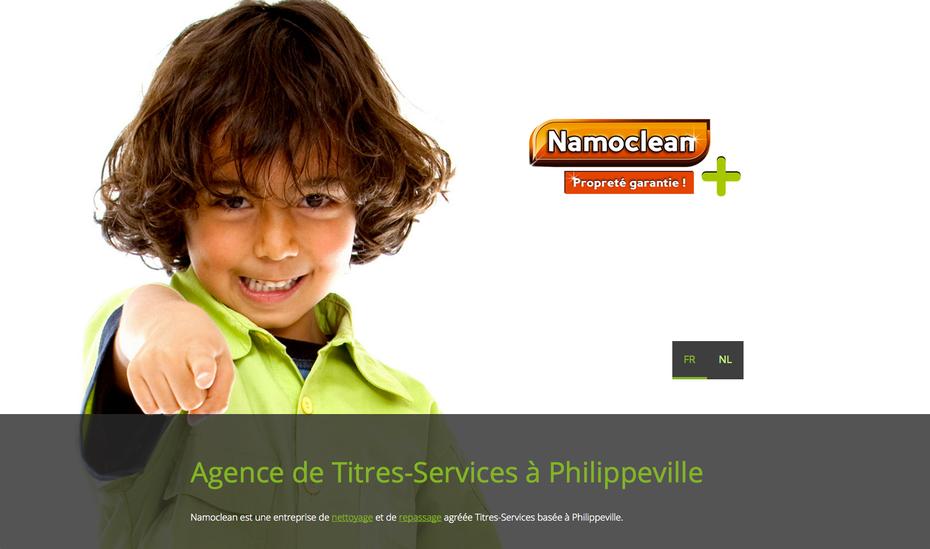 Le nouveau site de Namoclean