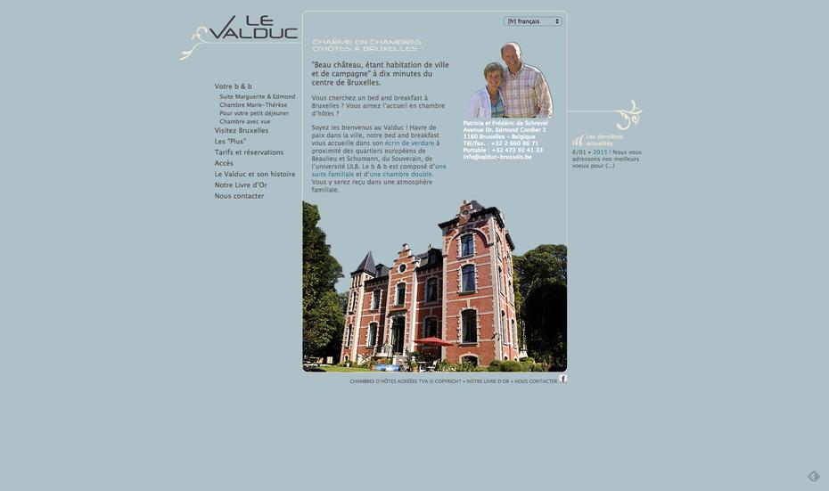 L'ancien site du Valduc (avec Spip)