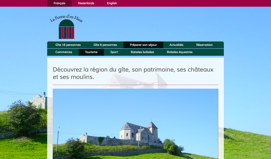 Jimdo design Lille avec site multilingue