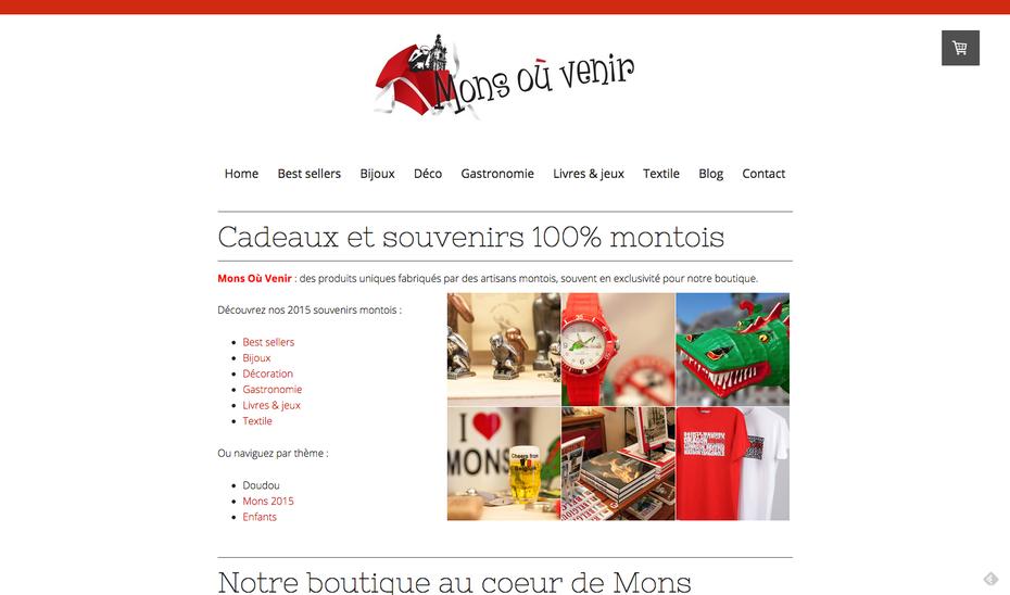 Le nouveau site de Mons-où-Venir
