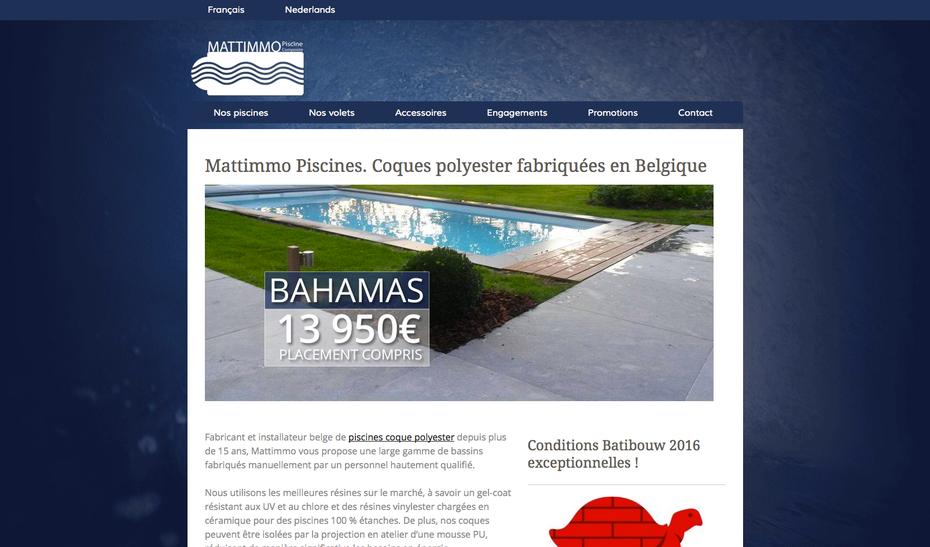Le nouveau site de Mattimmo (Jimdo)