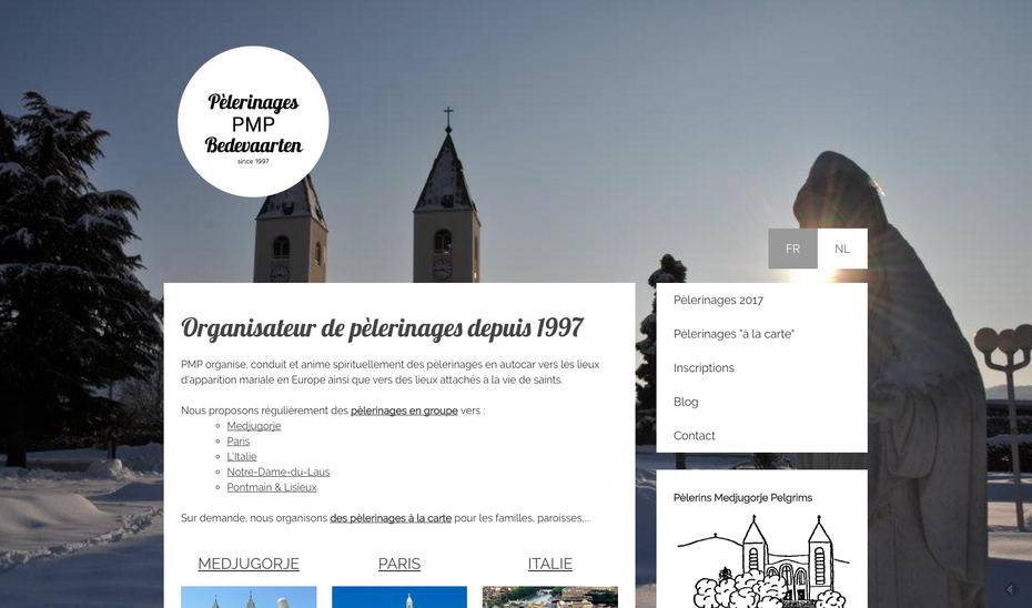 Le nouveau site de PMP