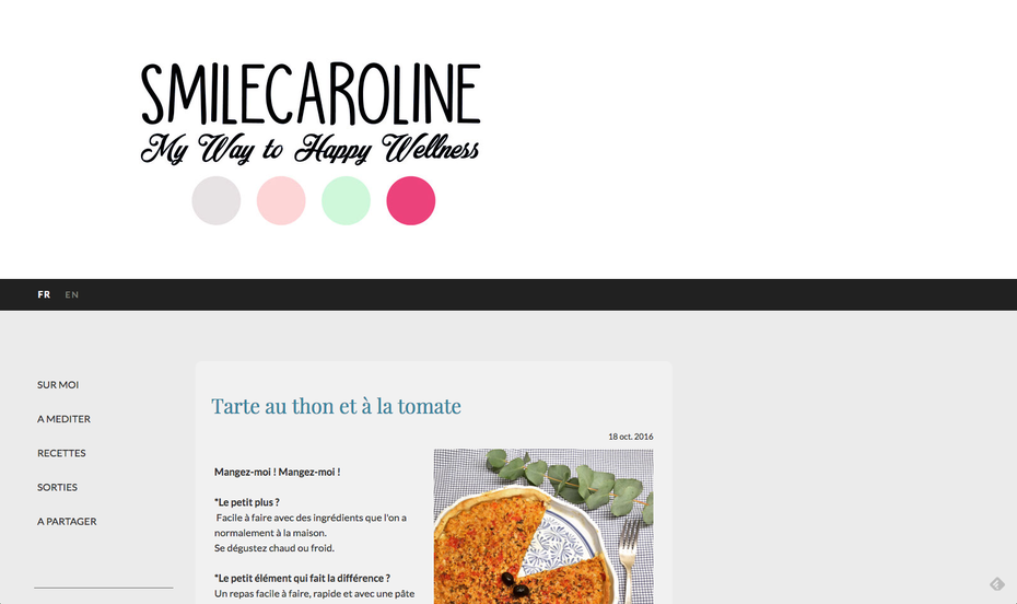 Jimdo design Florence avec site multilingue