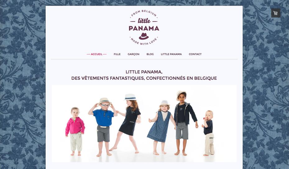 Découvrez le site sur http://www.littlepanama.be