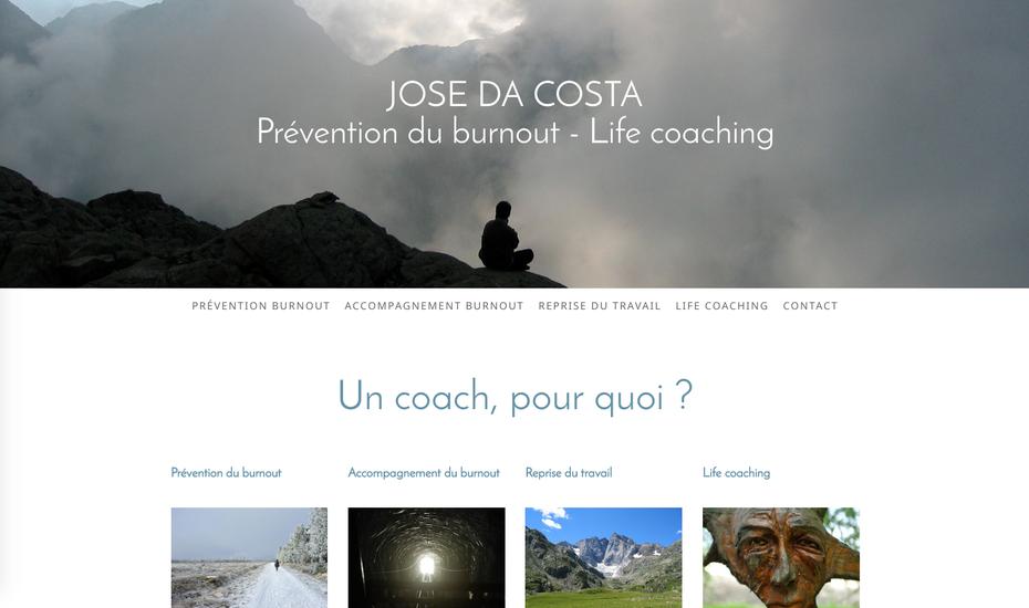 Le nouveau site créé en formation avec Jimdo