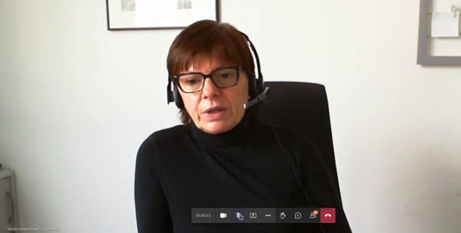 Referentin Sandra Dawid