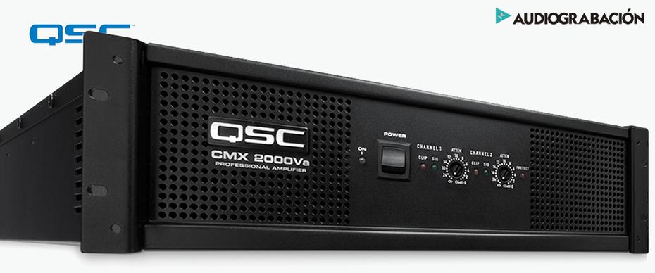 qsc cmx2000, cmx2000, amplificador para instalaciones