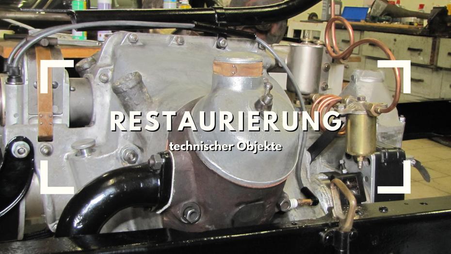 Restaurierung technischer Objekte Metallresto ilming