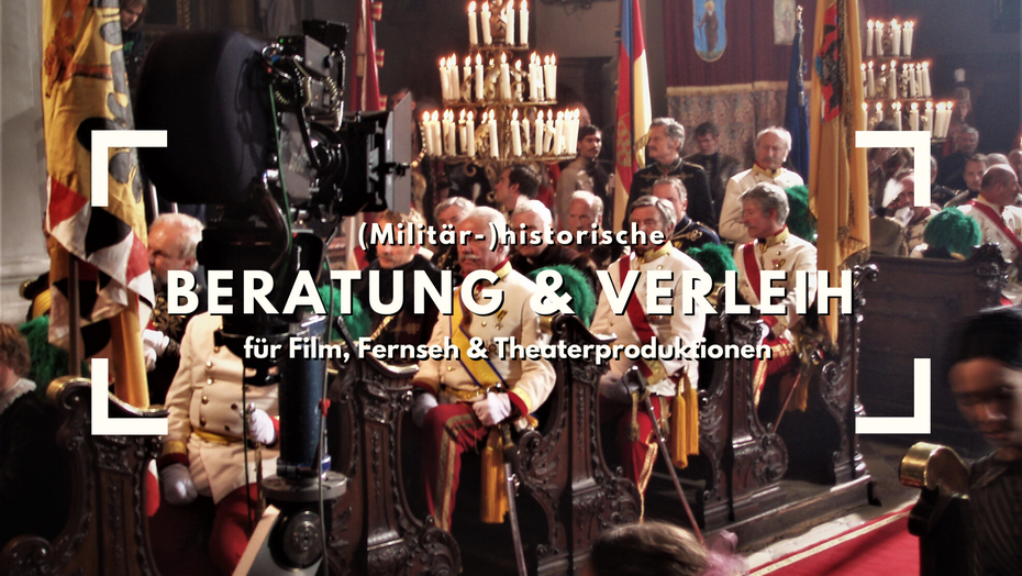 Verleih Beratung Orden Uniformen kuk Franz Josef Sisi Film Säbeln