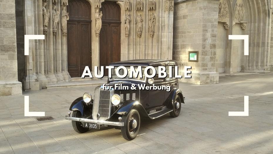 Oldtimer Verleih Film Auto Automobile Vorkrieg
