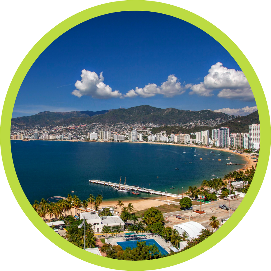 Tours de CDMX a Acapulco