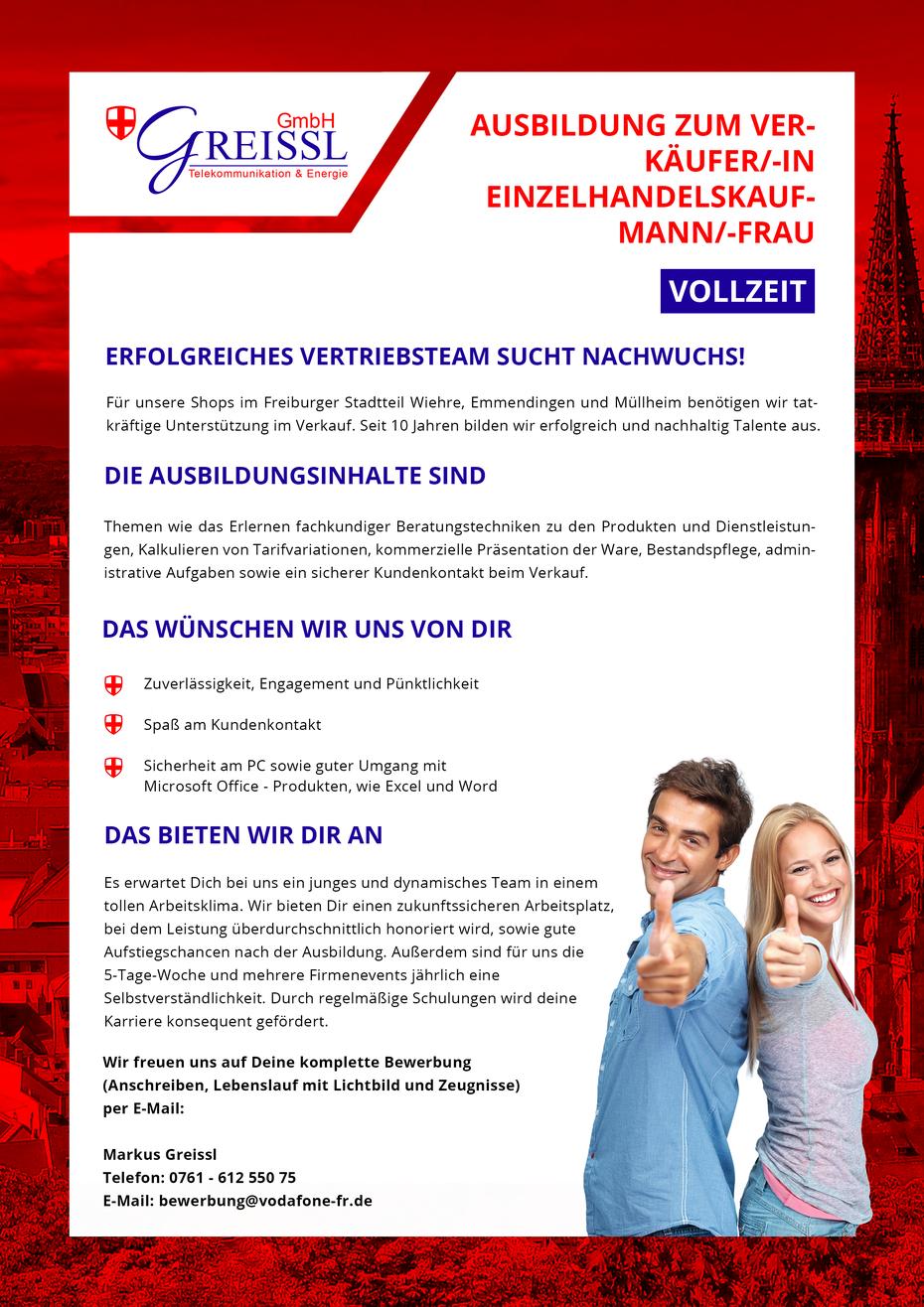 ausbildung - Vodafone Bewerbung