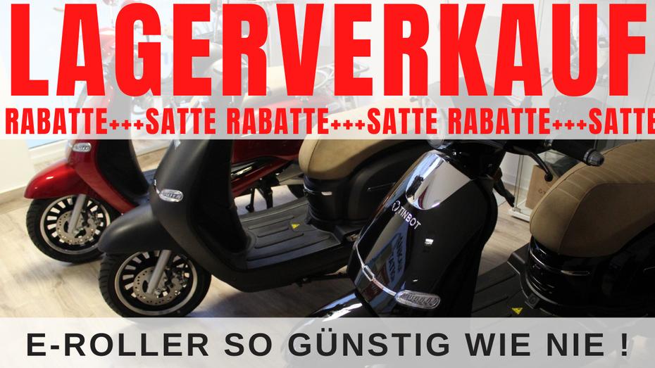 lagerverkauf eroller ebikes escooter elektro mobilität