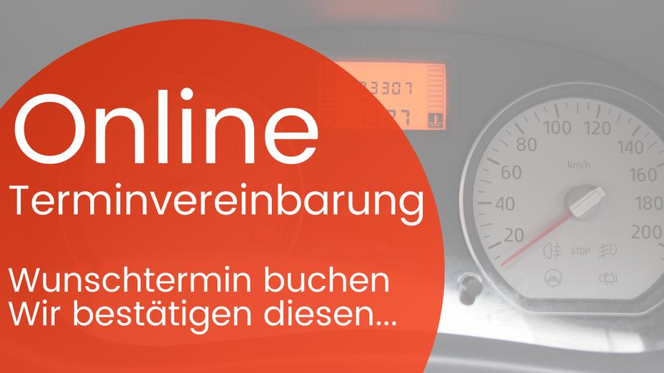 online Terminvereinbarung Auto KFZ