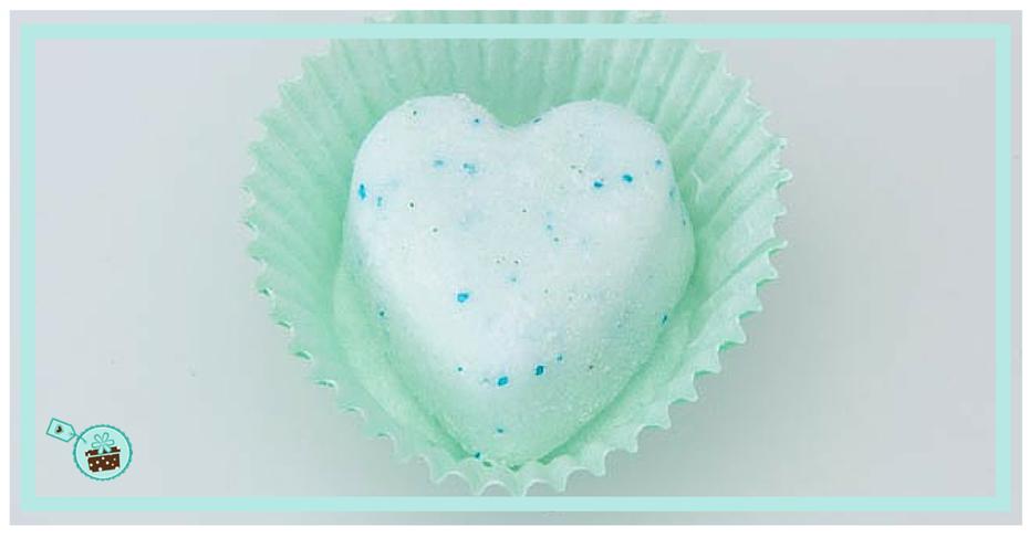 Badebombe in Cupcake Förmchen