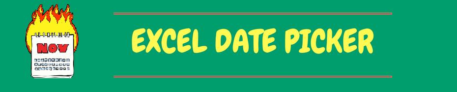 Excel Kalender Popup