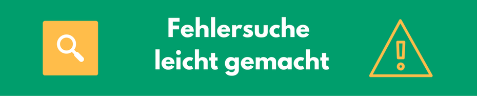Fehlersuche in Excel