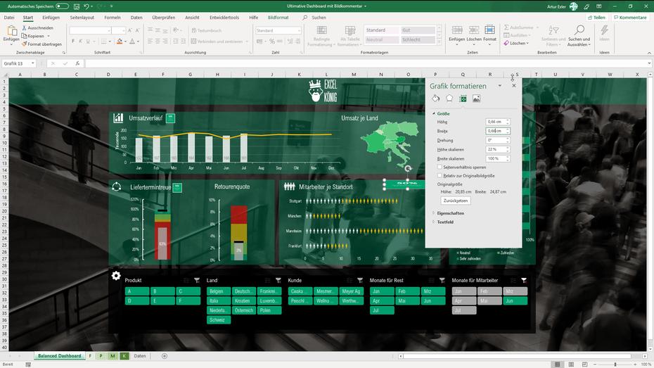 Excel Bildgröße anpassen um später per Mausklick zu vergrößern