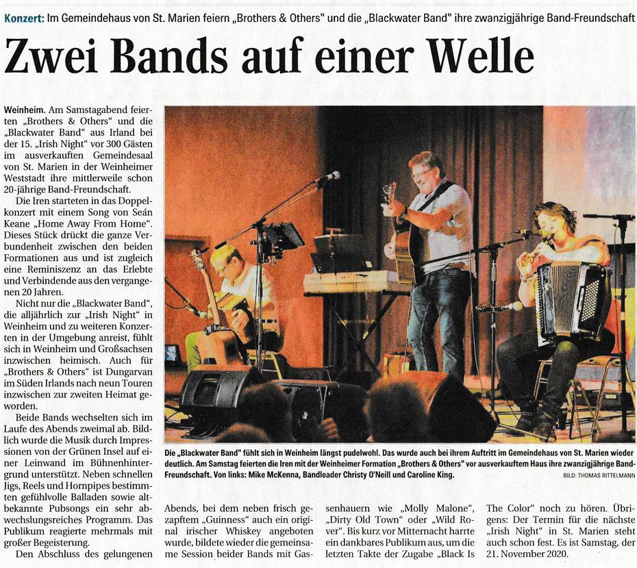 Weinheimer Nachrichten 26.11.2019