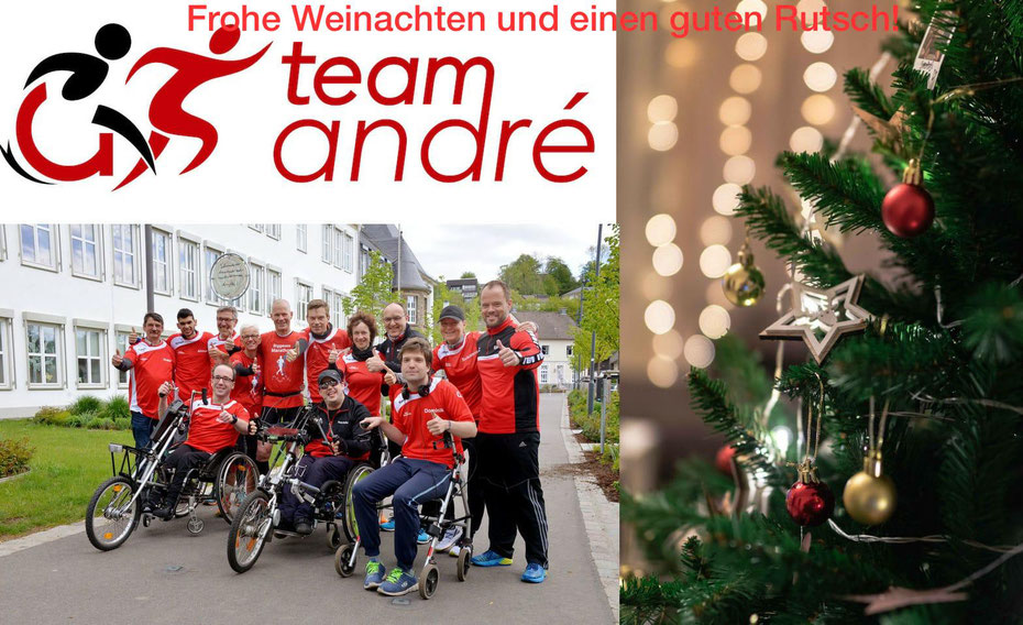 Collage Weihnachtsgruß Team André