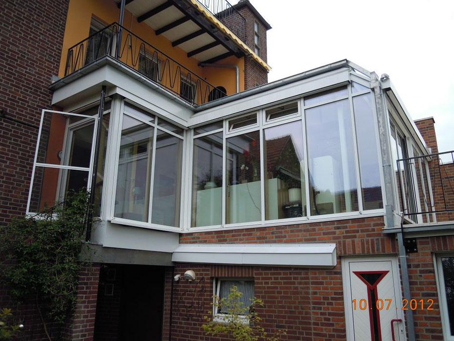 bild: wintergartenerweiterung wohnhaus telgte