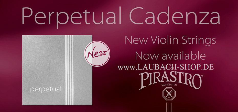 Характеристики комплекта Пирастро Перпетуаль  Каденца для скрипки