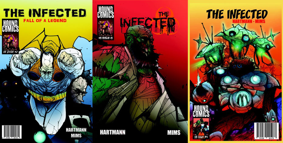 Click on the cover for more information or to order a copy of The Infected.
