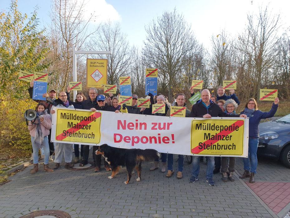 Foto - BI MAINZ21 Nein zur Mülldeponie in Mainz e.V.