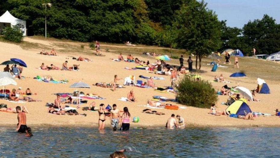 Wie am Langener Waldsee - so wünscht es sich eine Mainzer Initiative auch für den Laubenheimer Steinbruch - die Stadt winkt ab