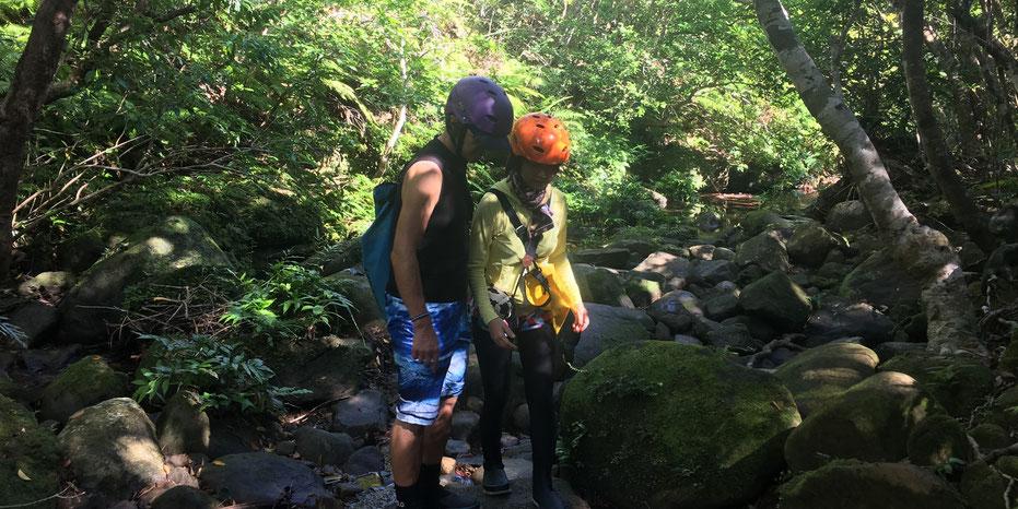西表島・ガイドにおまかせツアー【ジャングルトレッキングde沢・滝遊び】