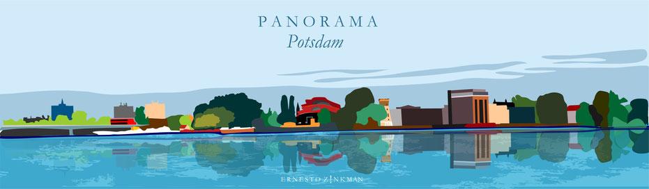 Potsdam Panorama