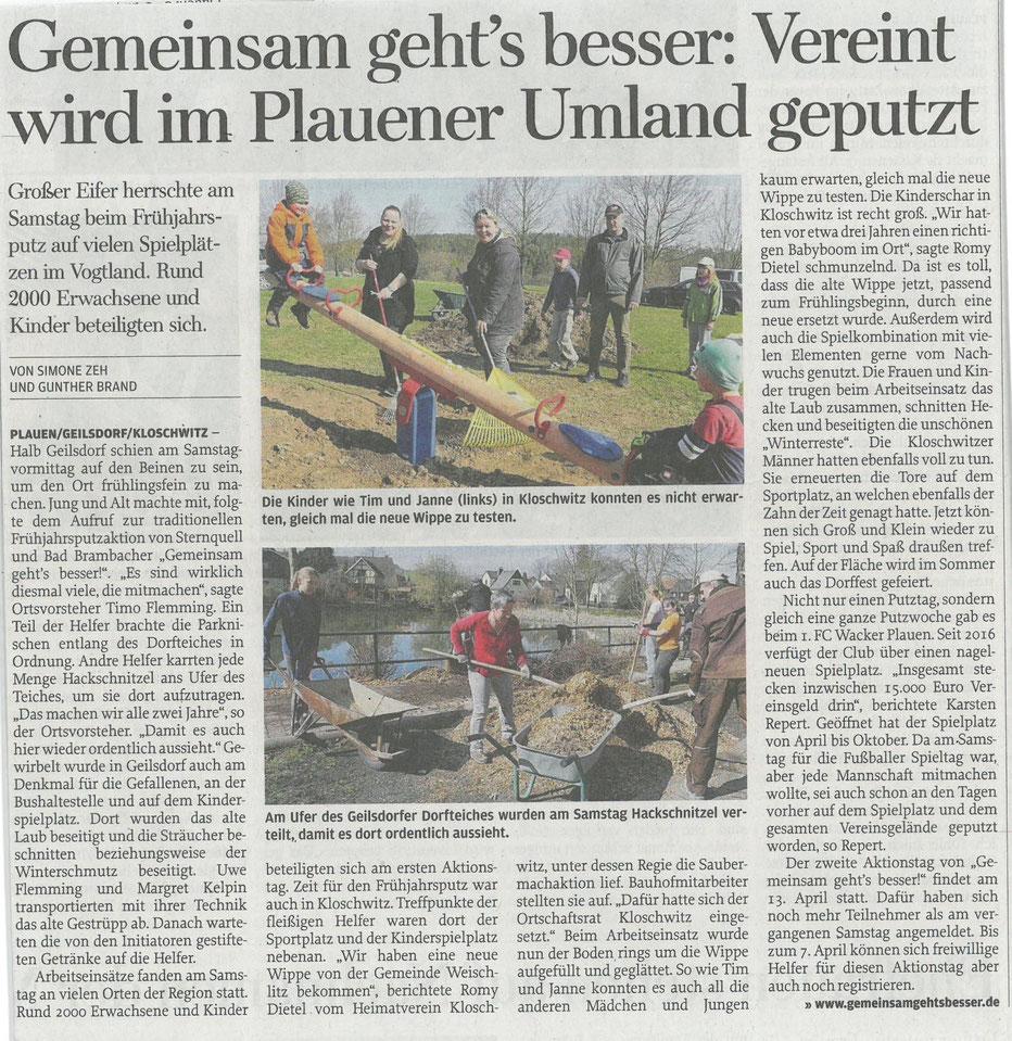 Freie Presse 01.04.2019