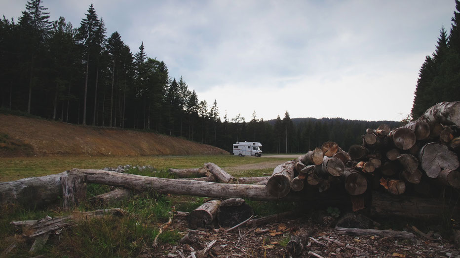 bigousteppes allemagne forêt noire camion mercedes