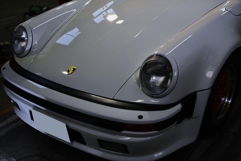 930ターボの傷消し磨き・コーティング完成 埼玉の車磨き専門店