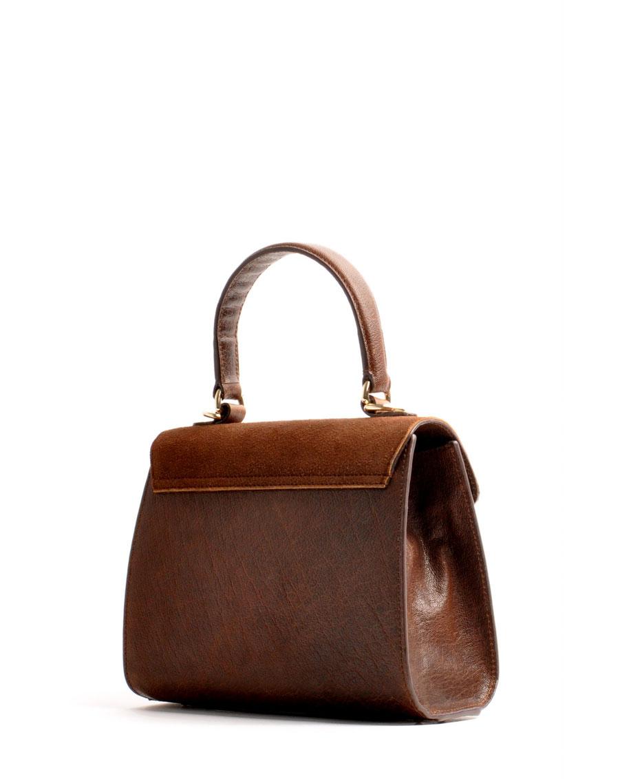 OWA Tracht Online-Shop exklusive  Dirndltasche CLOE versandkostenfrei kaufen. Hochwertiges Leder. Handlebag . Shoulderbag . Minibag . Detailansicht