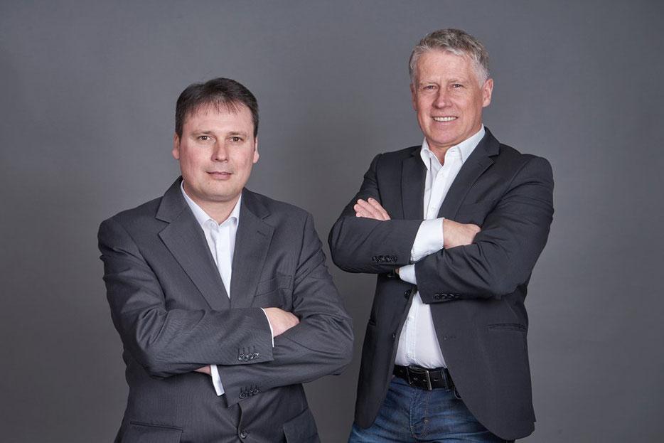 Christian Heiß und Martin Murr