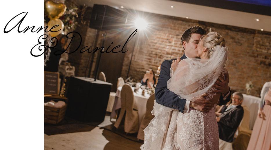Brautpaar Hochzeitstanz Hochzeitsfotografin Kathrin Filla