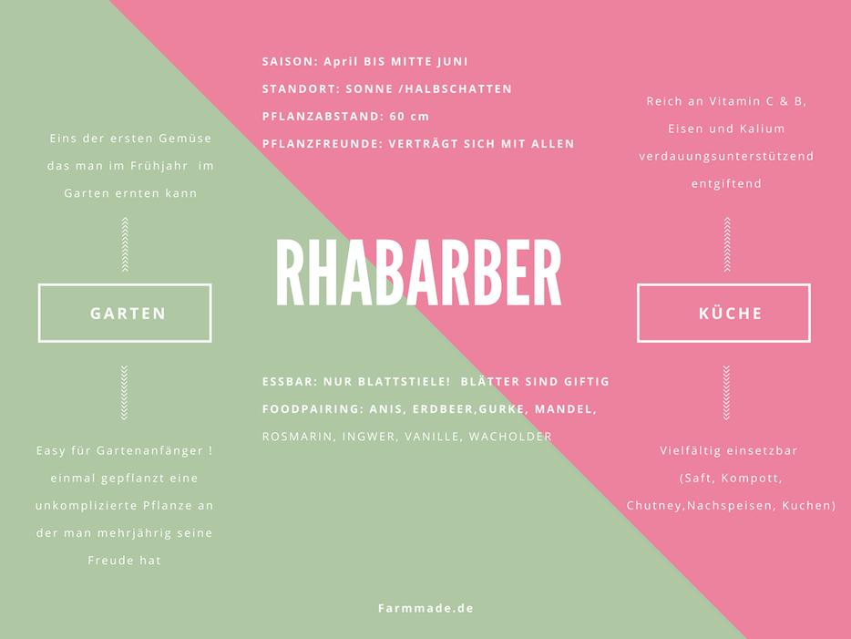 Rhabarber Benefits