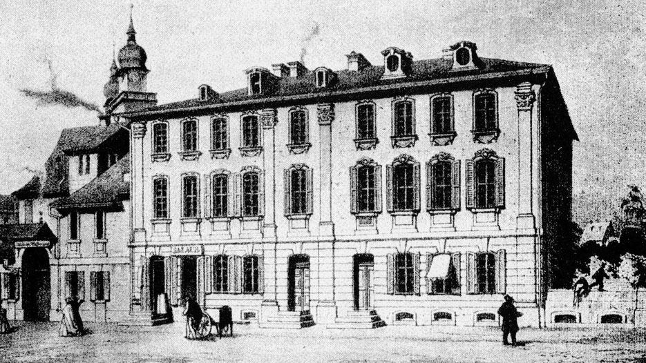 """Bayreuth - Friedrichstraße 5 , das """"Schwabacher Haus"""""""
