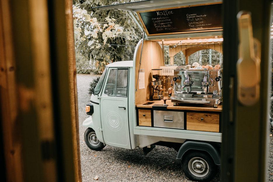 Wildkaffeemobil, Kaffeecatering, kaffeebar, Kaffeeape, Kaffeemobil, Espressomobil, coffeebike