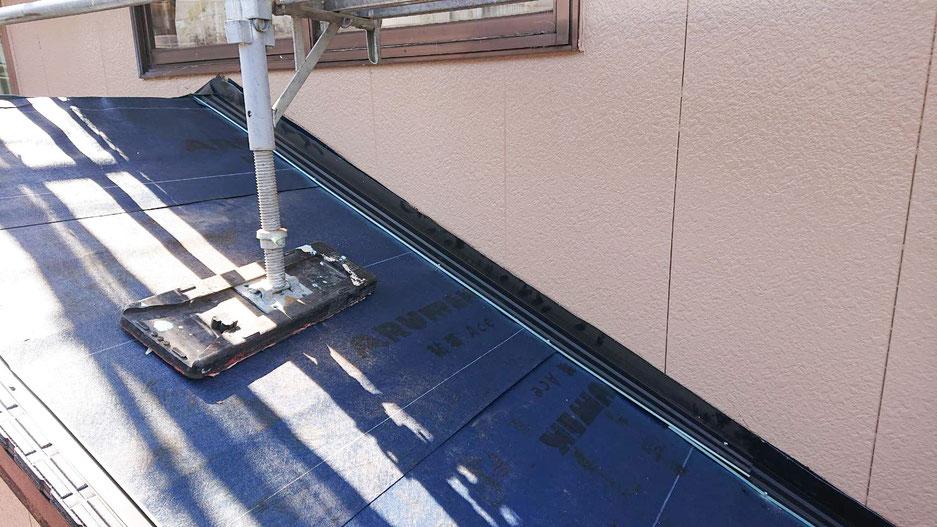 エコラ屋根カバー工法 施工後
