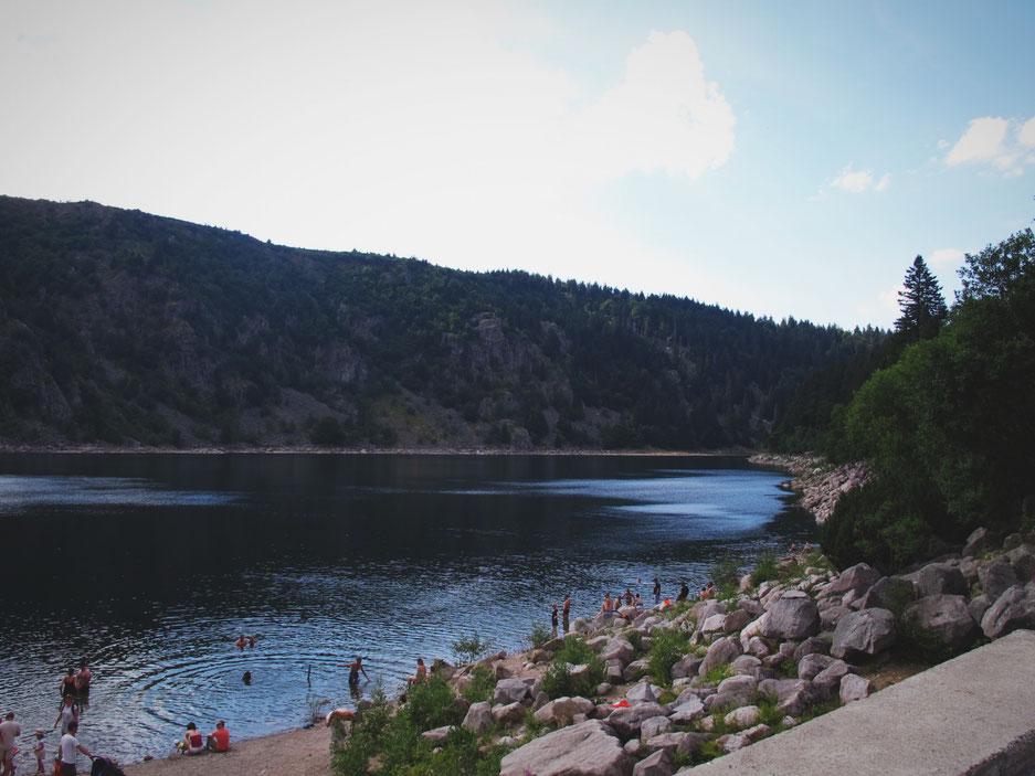 bigousteppes alsace lac blanc forêt